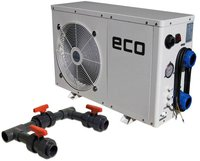 time4wellness Eco-Pool-Wärmepumpe mit Bypass 10kW