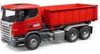 Bruder Scania R-Serie LKW mit Abrollcontainer (03522)
