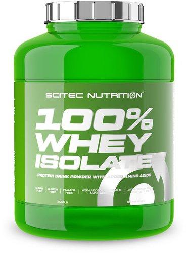 Scitec Nutrition 100% Whey Isolate 2000g Erdbeer