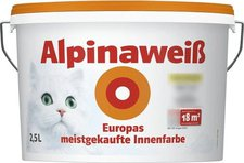 Alpina Farben Alpinaweiß Innenfarbe 2,5 Liter
