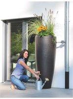 Garantia 2in1 Wasserbehälter mit Pflanzschale 300 L mocca (326109)