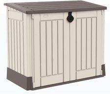 Keter Mülltonnenbox Woodland 30 beige-braun