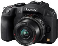 Panasonic Lumix DMC-G6 Kit 14-42 mm (schwarz) (DMC-G6X-K)