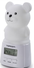 Topcom Nachtlicht Mehrfarbige LED - Thermometer/Hygrometer