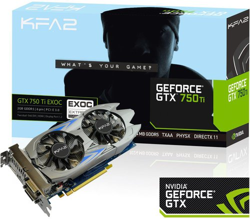 KFA Geforce GTX 750 Ti