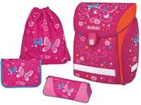 Herlitz Midi Plus Schulranzen Pink Butterfly