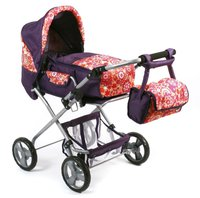 Bayer Chic Puppenwagen Bambina plums lila rot