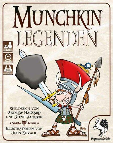 PEGASUS SPIELE Munchkin Legenden