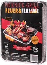 Holzkohlewerk Lüneburg Feuer & Flamme Picknick-Grill