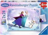 Ravensburger Disney Frozen: Schwestern für immer (2 x 24 Teile)