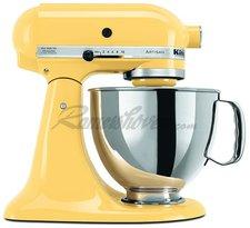 KitchenAid Artisan Küchenmaschine Pastellgelb 5KSM150PS EMY