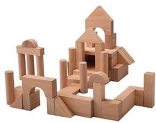 Plan Toys Unit Blocks - Naturbausteine