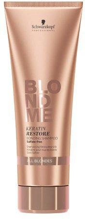 Schwarzkopf BlondMe Keratin Restore Blonde Shampoo (250 ml)