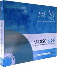 Millenniata M-Disc BD-R 25GB 4x 3er Staplerbox