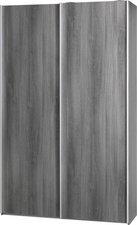 CS Schmal Soft Smart Schwebetürenschrank Typ 42 (120x194x61 cm)
