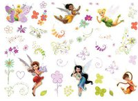 Decofun 70-008 Fairies - Small Wall Sticker