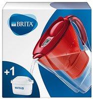 BRITA Marella Cool Wasserfilter rot