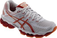 Asics Gel-Cumulus 15 W white/flame/orange