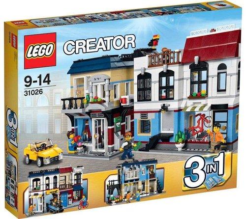 LEGO Creator - Fahrradladen & Cafe (31026)
