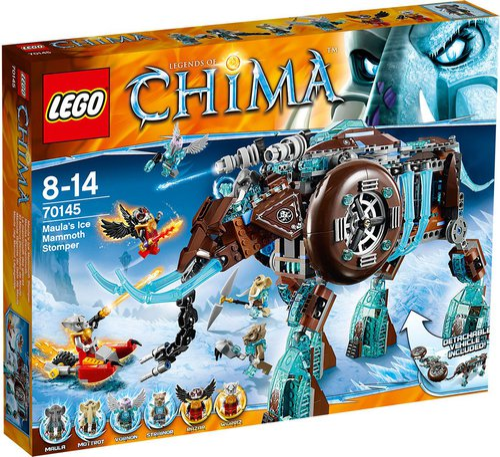 LEGO ChimaMaula's Ice Mammoth Stomper (70145)