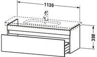 Duravit DuraStyle Waschtischunterschrank (DS639505353)