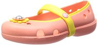 Crocs Girls' Keeley Petal Charm Flat