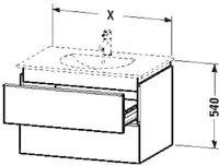 Duravit Darling New Waschtischunterschrank (DN647001851)