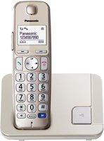 Panasonic KX-TGE210 Single champagner