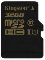 Kingston microSDHC 32GB Class 10 UHS-I (SDCA10/32GBSP)