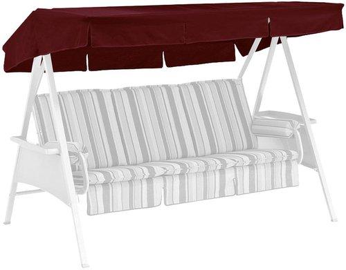 Kettler Ersatzdach für Avantgarde 3-Sitzer 207 x 146 cm bordeaux