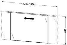 Duravit X-Large Spiegel beleuchtet (XL729707979)