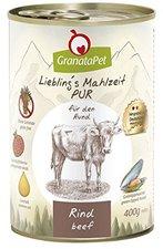 GranataPet Nassfutter Pur Rind (400 g)
