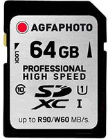 AgfaPhoto SDXC 64GB Professional High Speed Class 10 UHS-I (10506)