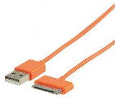 Valueline Lade-/Datenkabel orange (iPhone/iPod/iPad)