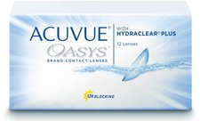Johnson & Johnson Acuvue Oasys with Hydraclear Plus -1,00 (12 Stk.)