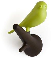 Qualy Hook Sparrow Garderobenhaken braun grün (QL10067BR-G)