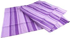 Berk Esoterik Yoga Matte aus Baumwolle lila