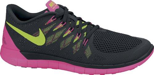 Nike Free 5.0 2014 Women black/hyper pink/anthracite/volt