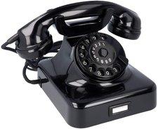 HDK Wählscheiben-Telefon W48 elfenbein