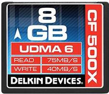 Delkin Compact Flash 8GB 500x (DDCF500-8GB)