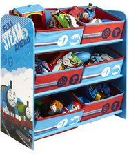 Worlds Apart Thomas The Tank Engine 6-Bin Storage Multi-Color 471TMA