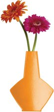 Cedon Wandvase Mauerblümchen orange