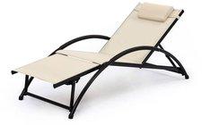 Garden Pleasure Korfu Sonnenliege (Alu-Textil)