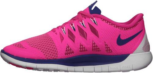 Nike Free 5.0 2014 Women hyper pink/deep royal blue/white