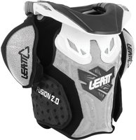 Leatt Brace Fusion Vest white/black