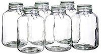 Domestic Einmachglas, Einweckglas, 4,8l, mit Bügelverschluss