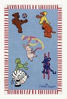 Böing Carpet Die Lieben Sieben Teppich (150 x 220 cm) Spielfreunde
