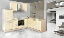 Respekta Premium L Küche Akazie vanille (260x200 cm)
