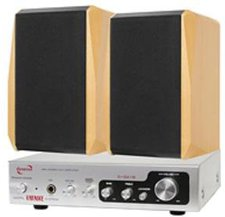 Dynavox Dream Sound Set II silber/Buche