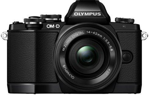Olympus OM-D E-M10 (schwarz) Kit 14-42 mm [EZ] (schwarz)